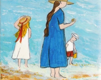 Family at the Beach II