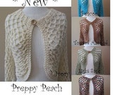 Sweater Shrugs, Ladies Sweater, Easy Fit Any Size Any Color, Your Choice