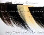 Bang Fringe Choose One Color Brown, Black, Blonde OR Off Black Fringe