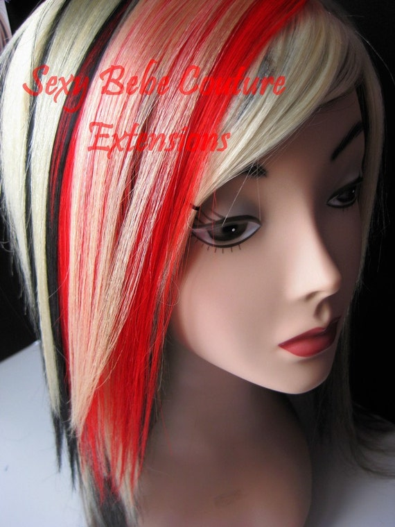 Blonde Hair With Black Extensions 104