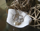 Going in Circles Silver Necklace