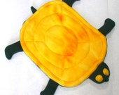 Turtle-Pet Bed Mat. Made with soft washable fleece fabric