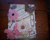 Shabby Chic Altered Journal