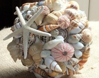 Beach Wedding Seashell Sea Shell Bouquet