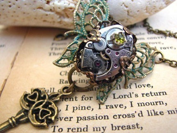 Somewhere In Time Necklace - Time Travel Collection