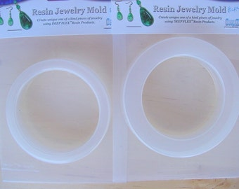 2  Resin Bangle Bracelet Molds Jewelry Molds (414/390)