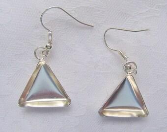 2 Pair Triangle Earring Blanks by Lisa Pavelka