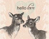 hello love - Valentine