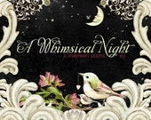 A Whimsical Night // Pre-Designed Etsy Storefront Graphic Set