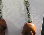Grin and Wear It Skull Earrings