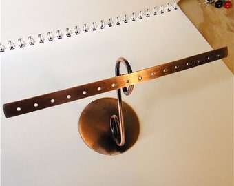 Copper Earring Rack, Small, Useful