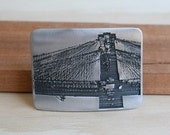 Brooklyn Bridge Belt Buckle