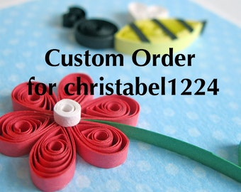 Custom Order for christabel1224