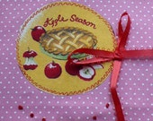Contest Gift on Markets of Sunshine Blog - Apple Address Book Appliqued - Embroidery and Personalized