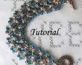 Tutorial - Beaded Chainmaille Bracelet - NA-548T