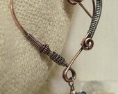 50% off Tutorial Sale-Tutorial for Wire Wrapped Heart Fibula.