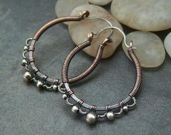 50% off Tutorial Sale-Tutorial for Silver Lace Hoop Earrings.