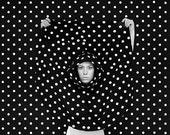 Polka dot punishment 8x10 print - jennipenni