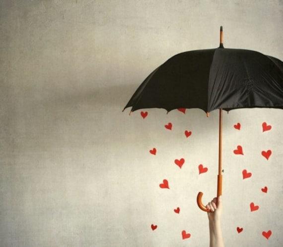It's raining hearts PRINT