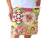 GRAND OPENING SPECIAL SALE Adult Ladies CUSTOM Cotton Aline skirt YOU PICK SIZE
