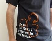 Bad Music black men's/unisex t-shirt