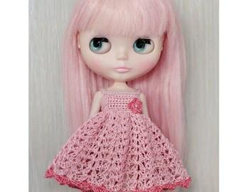 PDF Pattern Crochet Blythe Ballerina Dress