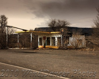 Just Past San Fidel - Route 66 - 11 x 14 Fine Art Photo - Southwest - Rt 66 Photo - New Mexico - Americana - Home Decor - Office Decor