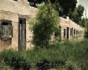 Vacancy - Fine Art Photograph of Abandoned Motor Court - Old Motor Court - Americana - Southwest - Ghost Town - New Mexico - Home Decor