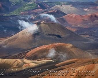 In the House of the Sun -  10 x 15 Fine Art Photo - Hawaii Photo - Volcano - Haleakala - Home Decor - Office Decor