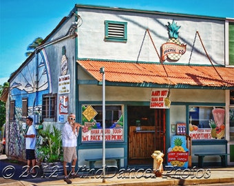 Road to Hana - Paia - Fine Art Photo - Maui - Hawaii - Home Decor - Hawaii Photo - Old Store - Hawaii Souvenir - Hawaii Gift