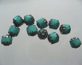 The Prettiest Turquoise Glass Beads