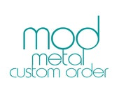 RESERVED LISTING custom order