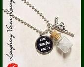 Supernatural Jewelry - Supernatural Necklace - Supernatural Protection Necklace - Style A - Rock Salt Necklace