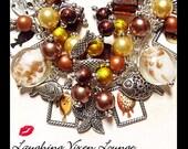 Fish Jewelry - Fishy Fish Bracelet - Ocean Jewelry - Ocean Bracelet - Charm Bracelet - Sea Jewelry - Sea Bracelet