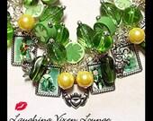 St Patricks Day Jewelry - Irish Jewelry - St Patricks Day Bracelet - Charm Bracelet - Irish Bracelet - Leprechaun Jewelry - Shamrock Jewelry