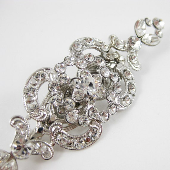 Frances Brooch with Swarovski Rhinestones