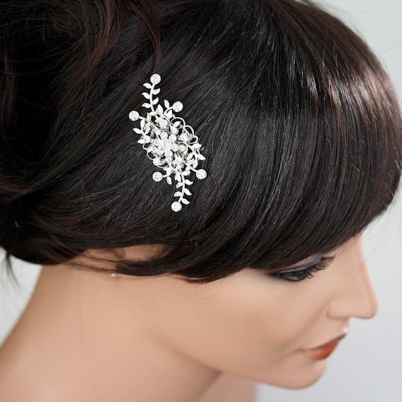 Rhinestone  Bridal Comb GENOA.... Custom order for maybeaways