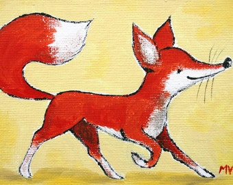 The Fox Walk - PRINT