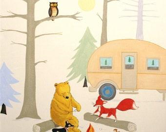 Camp Hawk- PRINT