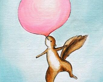 Bubblegum Sky-  PRINT