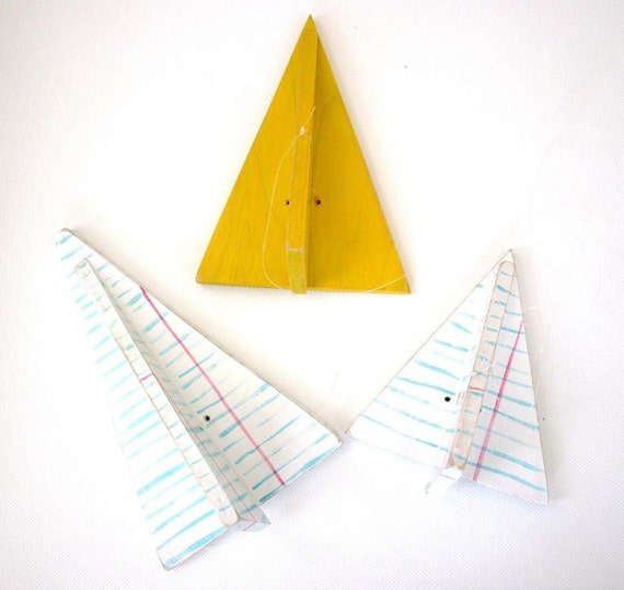 College Rules Paper Airplane by Marnie V.