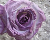 2 Extra Large Handmade Paper Millinery Cabbage Roses