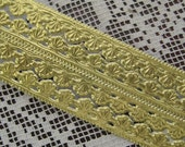 Made In Germany Gold Embossed Sea Shell Foil Paper Dresden Trim  DFW 207 G
