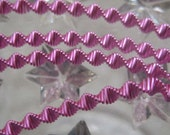 Bouillion Wire Zig Zag Crinkle Wire Made In Germany Authentic Pink 3mm Crinkle Wire For Ornaments