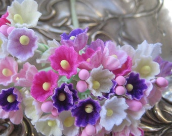 Forget Me Nots Flowers An Old Fashioned Favorite in Sweet Mix One Bouquet