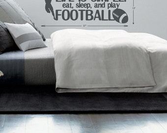 Football Quote wall decal