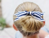 Sailor Navy with White Stripe. Summer Sweets Barbecue Bow.