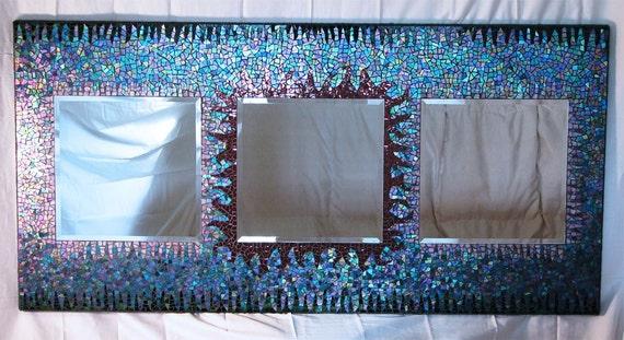 Trio Large Mosaic Mirror