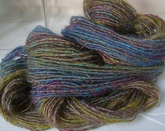ANTIQUE PLUM -- Handspun Yarn