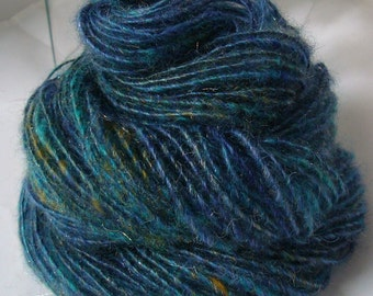 STARRY SKY -- Handspun Yarn